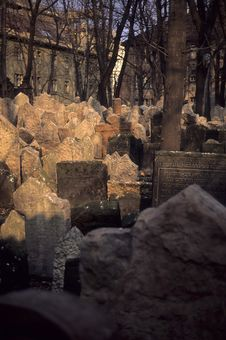 Free Ancient Jewish Cemetery Royalty Free Stock Images - 2180069