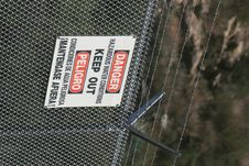 Free Danger - Keep Out 3 Stock Photography - 2180292