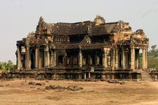 Free Ancient Library, Angkor Wat Stock Photography - 2180702