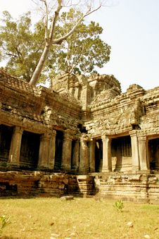 Free Temple, Angkor Wat Royalty Free Stock Images - 2180779