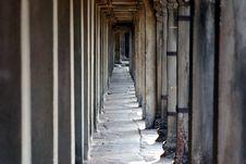 Free Pathway, Angkor Wat Stock Images - 2180864
