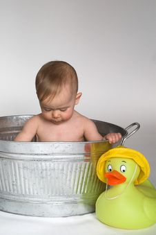 Free Tub Baby Stock Images - 2181874