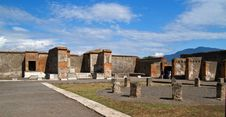 Free Pompei, Ruins From The Volcano Royalty Free Stock Photos - 2182548