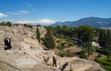 Free Pompei, Ruins From The Volcano Stock Photo - 2182590