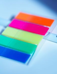 Free Coloured Plastic Stickers Stock Photo - 2182640