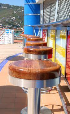 Free Stools On Ship Royalty Free Stock Photography - 2183507