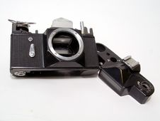 Free Broken Camera Royalty Free Stock Photography - 2183537