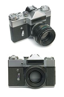 Free Old Film Camera Royalty Free Stock Images - 2184049