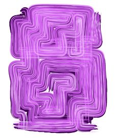 Weird Backgrounds Purple Lines Royalty Free Stock Photography