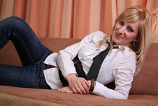 Free Beautiful Blonde Girl Stock Photos - 2184693