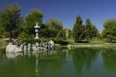 Free Japanese Tea Garden Royalty Free Stock Image - 2184726