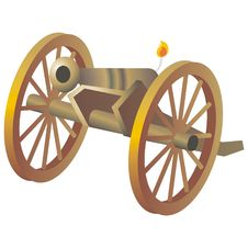 Free Ancient Cannon Stock Photography - 2185442