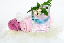 Free Natural Bath Accessories Royalty Free Stock Images - 2185939