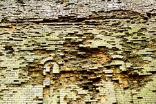 Free Very Old Brick Wall Royalty Free Stock Photography - 2186027