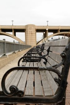 Free Along The Benches Stock Images - 2186104