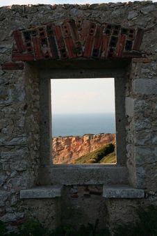 Free Window To Te Sea Royalty Free Stock Photos - 2187848