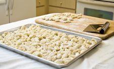 Homemade Pasta Gnocchi Stock Photography
