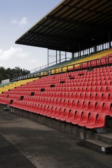 Free Stadium Seats Royalty Free Stock Photo - 2188805