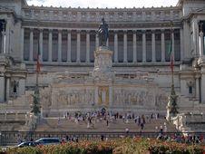 Free The Monument At Plazza Venezia Royalty Free Stock Photos - 2188918