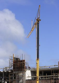 Free Crane On Site Stock Images - 2189244