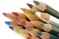 Free Pencil And Color Royalty Free Stock Photos - 2189718