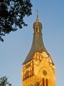 Lutheran Church In Dubulti, Latvia Royalty Free Stock Photo