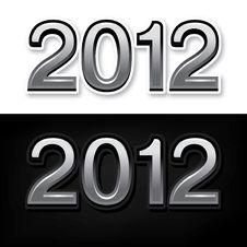 Free Year 2012 Stock Photo - 21800740