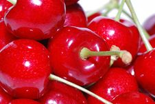 Free Cherries Great View Royalty Free Stock Photos - 21801048