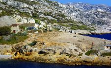Free Walk In The Calanques Royalty Free Stock Image - 21801096