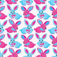Free Toy Rabbits Royalty Free Stock Image - 21807996