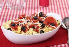 Free Pepperoni Pasta Stock Photos - 21810483