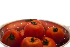 Free Tomatos In Colander Stock Image - 21811001