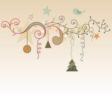 Free Christmas Decoration Stock Image - 21812841