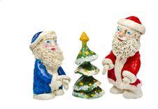 Free Decorative Figure For Xmas Isolated On White Royalty Free Stock Photo - 21813085