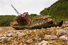 Free Fishing Boat At Rest Stock Photos - 21813893