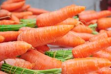 Free Carrots Royalty Free Stock Photography - 21814527