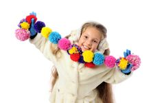 Winter Child Royalty Free Stock Images