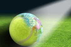 Free World Tennis Royalty Free Stock Images - 21816829