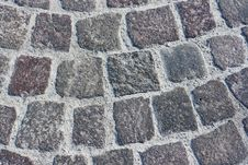 Free Block Pavement Of Ancient Street Royalty Free Stock Image - 21816906
