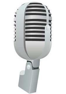 Free The Microphone Royalty Free Stock Photography - 21819147