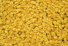 Free Corn Flakes Texture Background Royalty Free Stock Images - 21819459