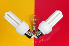 Free Light Bulb Royalty Free Stock Photos - 21819568