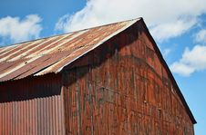 Old Rusted Rural Building Stock Photos