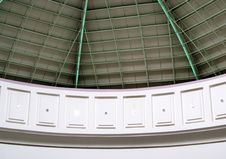 Roof Of Dome Structure Portrait Picture Stock Photography