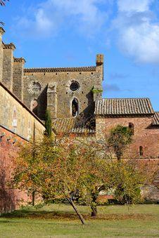 Free San Galgano Tuscany Stock Image - 21824771