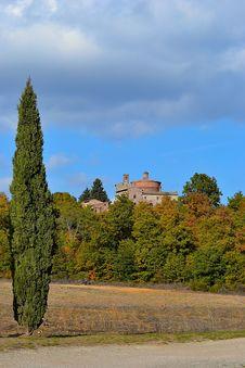Free Tuscany Montesiepi Royalty Free Stock Photos - 21824778