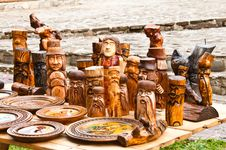 Free Wooden Sculpture Stock Photography - 21826322