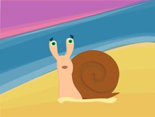 Free Snail Stock Photography - 21826792
