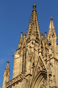 Free Cathedral In Barcelona Royalty Free Stock Photos - 21827108