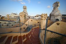 Free Casa Milla, Barcelona Stock Photos - 21827133